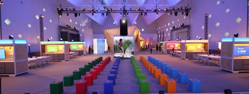 Vortragsbereich Roadshow BASF Creator Space