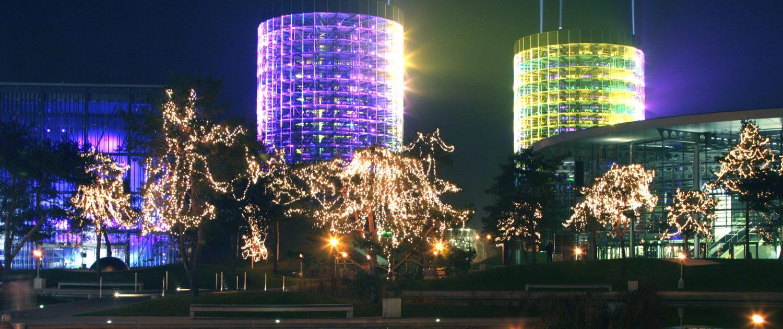 Beleuchtung Autostadt Wolfsburg