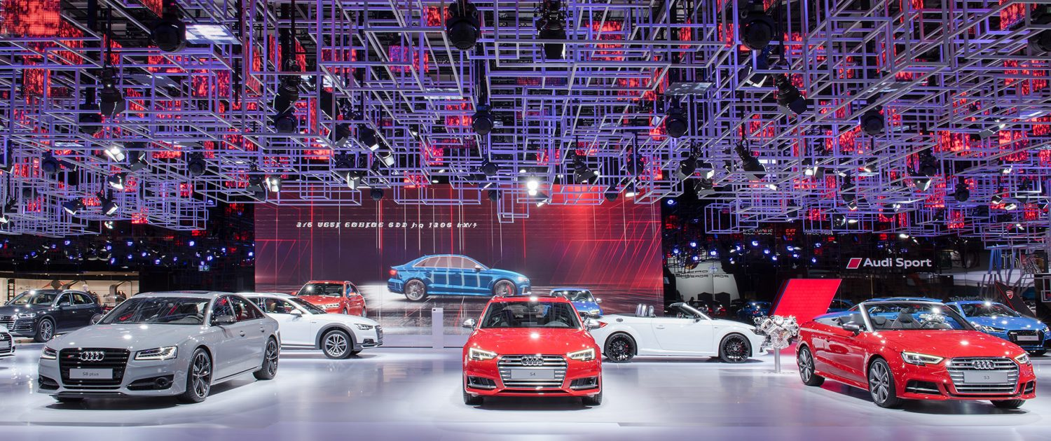 Audi Messestand Motorshow Paris