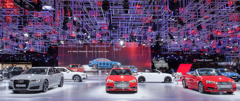 Audi Messestand Motorshow Paris