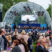 Bühne Bürgerfest des Bundespräsidenten