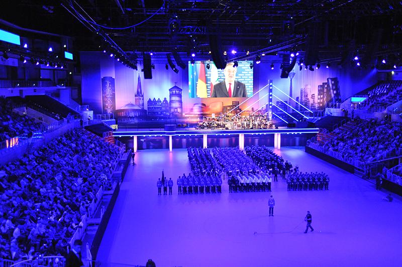 Veranstaltungstechnik, Showtechnik Grossveranstaltung