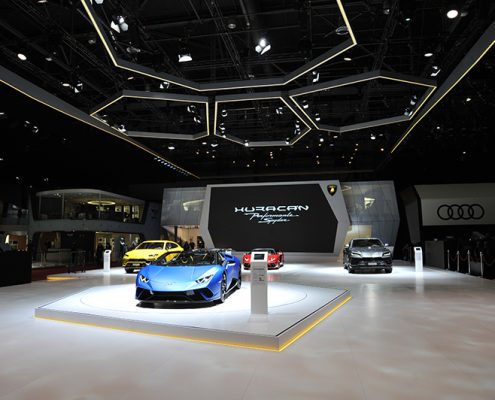 Messestand & Messetechnik | Automobilsalon Genf