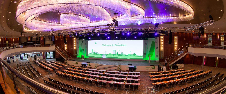 Veranstaltungstechnik für Jubiläum, Firmenevent