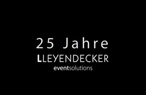 Firmenjubiläum Leyendecker eventsolutions